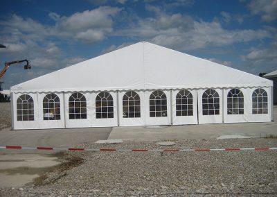 Zelthalle 15 m breit