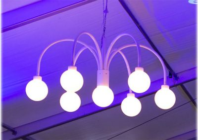 Kugellampe für Großzelte, 160 cm Durchmesser