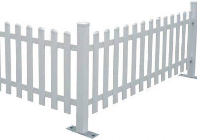 Zaun zur Abtrennung